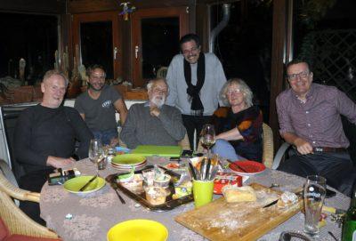 v.l. Michael Thiele, Thomas Müller, Axel Dierker, Hansjörg Scheidler, Sybille Haas und Stephan von Hammel Foto: Monika Schwarz-Cromm